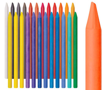Soft Woodless Pastel Pencils - Pack of 24