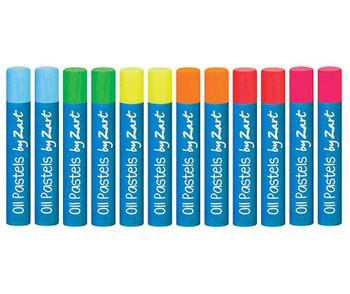 Oil Pastels - Fluoro (Pack of 12)