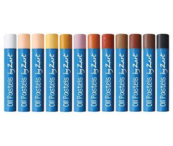 Oil Pastels - Skin Tones (Pack of 12)