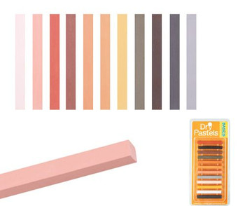 Soft Pastels - Skin Tone (Pack of 12)
