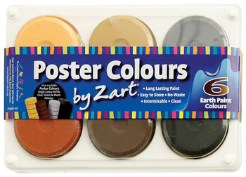 Poster Colours - Earth Palette