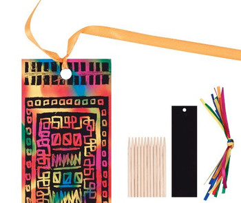 Scratch Bookmarks - Pack of 12