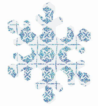 Scratch Snowflakes - Pack of 30