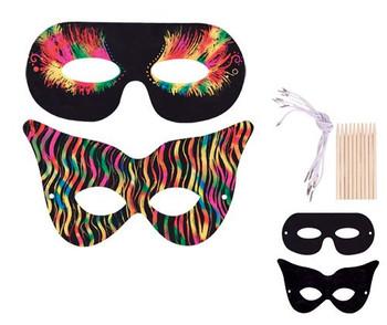 Scratch Masks - Pack of 10