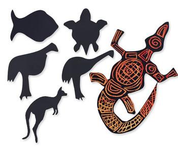 Scratch Australian Animals - Pack of 30