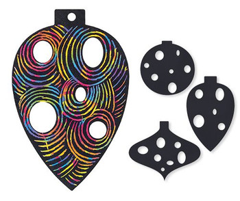 Scratch Baubles - Pack of 30