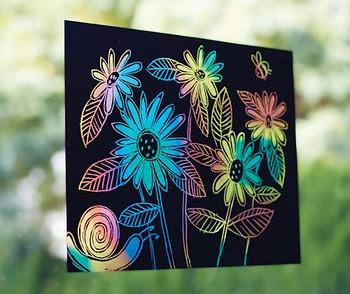 Scratch Paper Rainbow Lite - Pack of 10