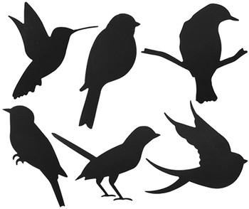 Scratch Birds - Pack of 24