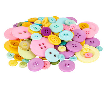 Buttons - Pastel (600g)
