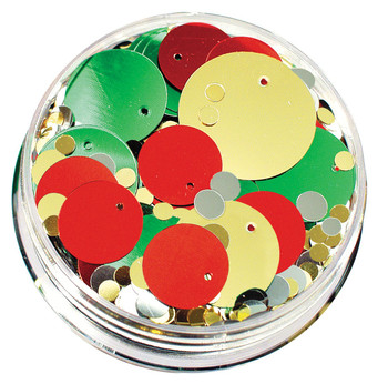 Sequins in a Jar - Christmas (100g)