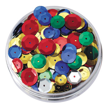 Sequins in a Jar - Embossed Round (50g)