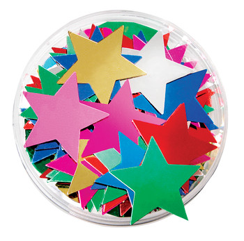 Sequins in a Jar - Stars: Large (50g)