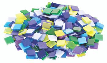 Deco Mosaic Tiles - Cool Colours (150g)