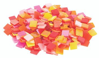Deco Mosaic Tiles - Warm Colours (150g)