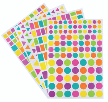Adhesive Shapes - Assorted (Pack of 40)