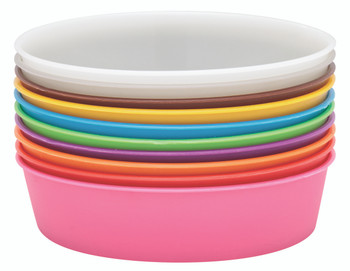 Plastic Painting/Sorting Bowls - Pack of 10