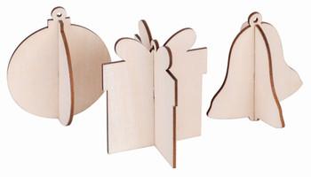 3D Festive Hangers - Pack of 12