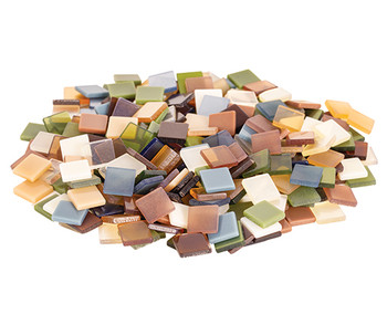 Deco Mosaic Tiles Earth Colours 150g