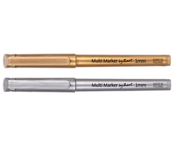 Multi Markers - Gold & Silver (Pack of 20)