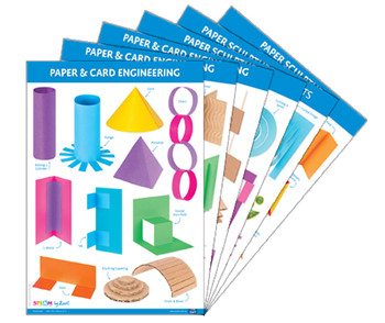 Paper & Cardboard: Skills & Construction Charts A2