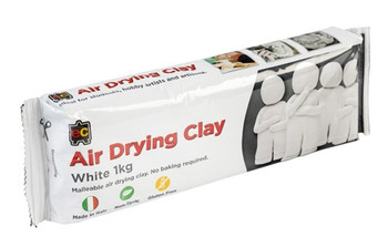 Air Drying Clay 1kg - White