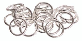 Jump Rings 8mm Stainless Steel - Pack of 100