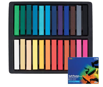 Mungyo Dry Pastels - Pack of 24