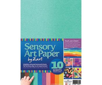 Sensory Art Paper - Pack of 10