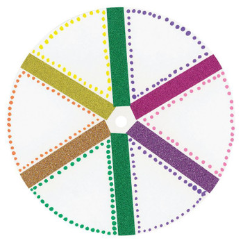Cardboard Circles for Spinning Tops - Pack of 50