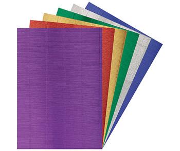Corrugated Card Metallic - Pack of 10