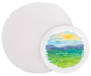 Handmade Watercolour Paper Round - 30cm (Pack of 10)
