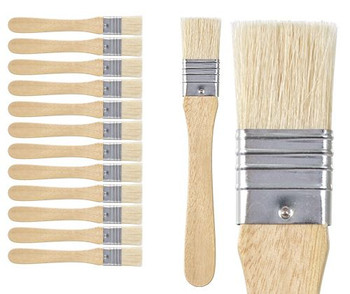 Wide Flat Brush 25mm - Pack of 12