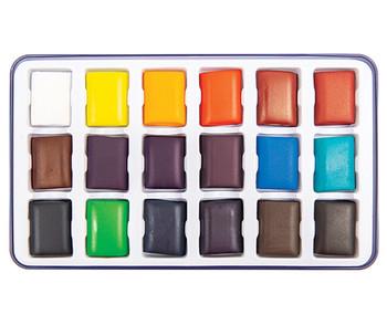 Primecolours Watercolours - 18 Colours (Assorted)