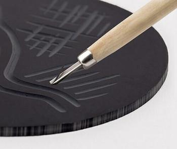 MasterCut Lino Vinyl - Round (20cm)
