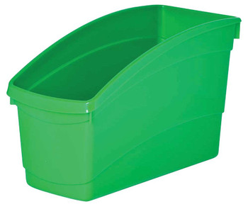 Plastic Book and Storage Tubs - Green