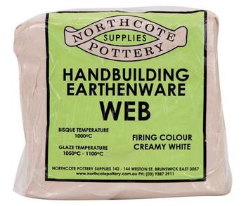 Handbuilding Earthenware Web Clay 10kg