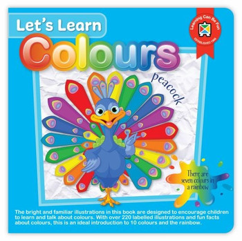 Let's Learn Colours Board Book