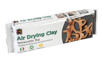 Air Drying Clay 1kg - Terracotta