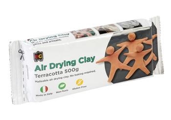 Air Drying Clay 500g - Terracotta