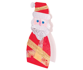 Cardboard Standing Characters Xmas - Pack of 12