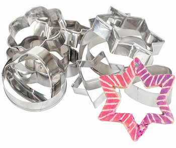 Metal Clay Cutters - Pack of 15