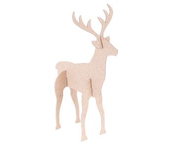 Papier Mache - Reindeer (Pack of 10)