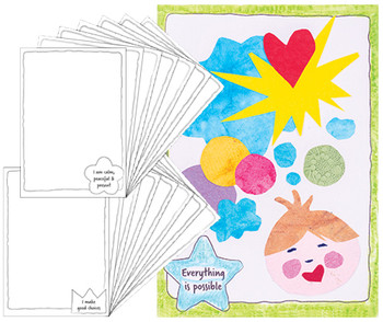 ColourMe Affirmation Cards - Pack of 16