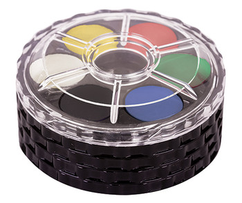 Watercolour Paint Disc - Pack of 24