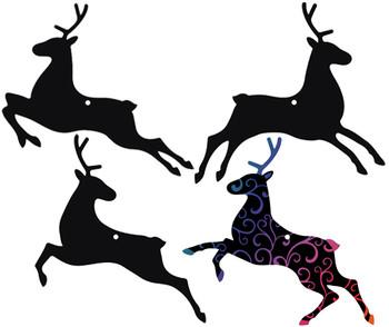 Scratch Reindeers - Pack of 24