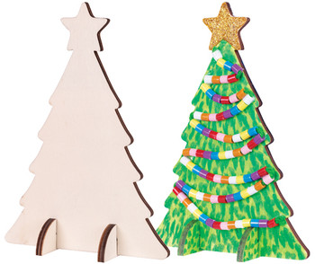 Wooden Standing Tree - Pack of 10