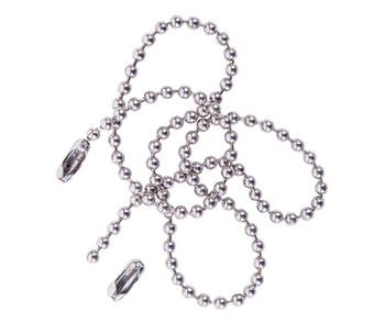 Ball Chain Bracelet with Clasp 25cm - Silver (Pack of 10)