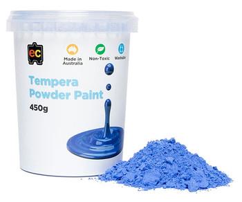 Tempera Powder Paint 450gm - Blue