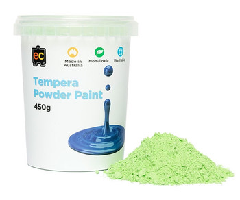 Tempera Powder Paint 450gm - Green