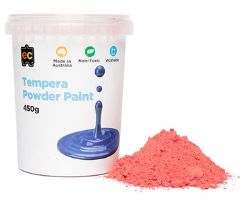 Tempera Powder Paint 450gm - Red